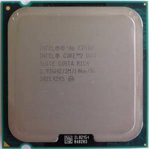 Intel Core2 Duo E7500 2.93GHz LGA-775 CPU